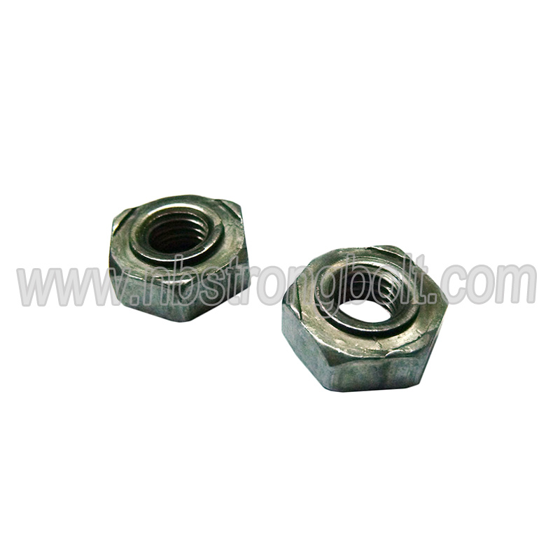 Hexagon Welded Nut M8 Natural Color
