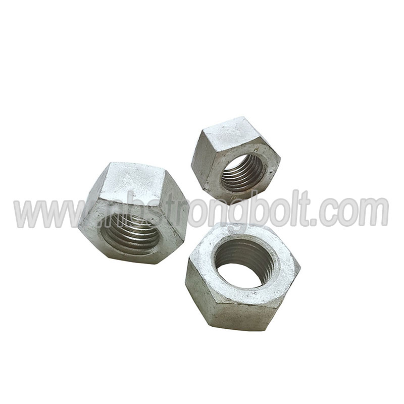 En14399-4 Hex Nut Cl. 10 with HDG