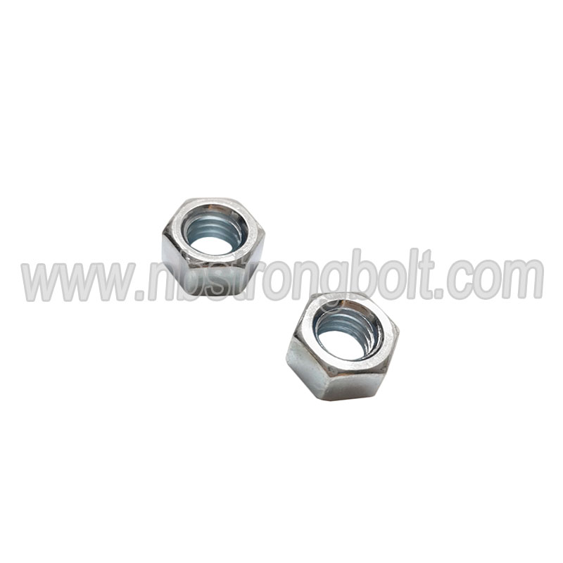 "ASME/ANSI B18.2.2 Hex Nut with Zinc Gr. 2 3/8""-16"